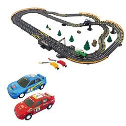 Circuit quad avec voitures
