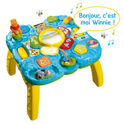 Ma table des découvertes Winnie