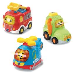 Coffret véhicules trio Secours - Tut Tut Bolides