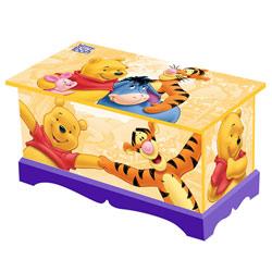 Coffre à jouets Winnie l'ourson