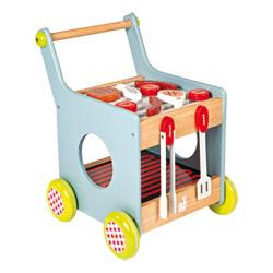 Mon Premier Chariot Barbecue en bois
