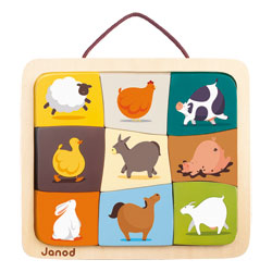 Magnéto puzzle Happy Farm Janod