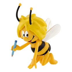 Figurine Maya l'abeille écrit