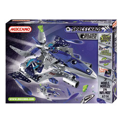Silver Force Destroyer Meccano