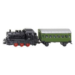 Locomotive à Vapeur avec Wagon