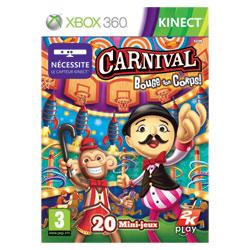 Jeu XBox 360 Carnival : Bouge ton corps