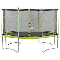 Trampoline Jumpi 360 avec cage de protection