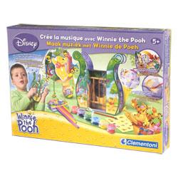 Crée la musique avec Winnie The Pooh