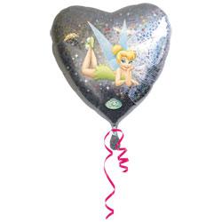 Ballon hélium Coeur Clochette
