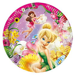 Assiettes Fairies Disney