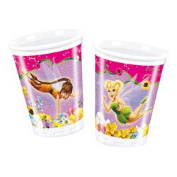10 gobelets 20 cl plastique Fées Disney