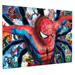 Puzzle 3D Spiderman 300 pièces - Niveau 3