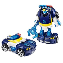 Transformers Rescue Bots Chase the Police-Bot