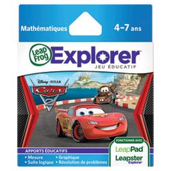 Jeu Leapster Explorer : Cars 2