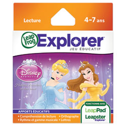Jeu Leapster Explorer : Princesses Disney