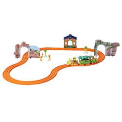 Circuit aventure Dino train motorisé