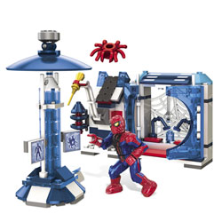 Amazing Spiderman Laboratoire Oscorp