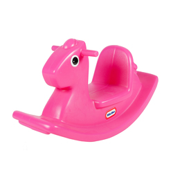 Cheval à Bascule Rose Little Tikes
