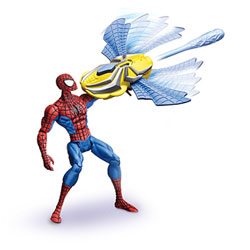 Figurine Spiderman 4 - Mega Cannon