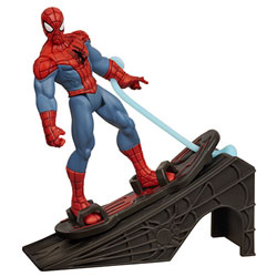 Figurine Spiderman with Hover Board