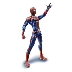 Spiderman figurine 22CM - Spiderman