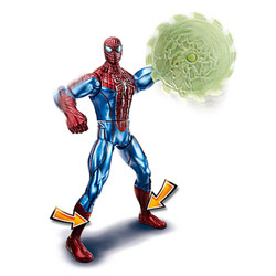 Figurine de Combat Spiderman Spinning Web Blade