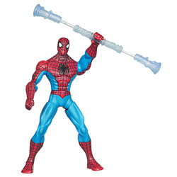 Figurine de Combat Spiderman With Staff Spinners