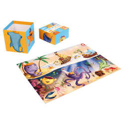 Puzzle Poissons Pirates