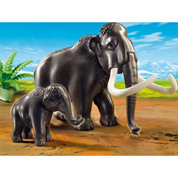 5105-Mammouth et son petit