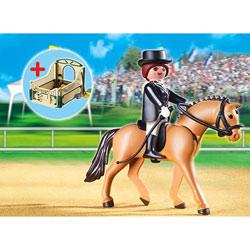 5111-Cheval de Dressage et Cavalière