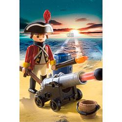 5141-Soldat britannique avec canon