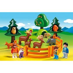 6772-Parc d'animaux et famille