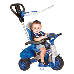 Tricycle Baby Twist 360° Bleu