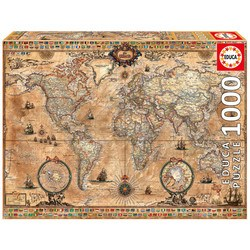 Puzzle carte du monde 1000 pièces