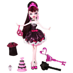 Monster High en tenue de soirée - Draculaura