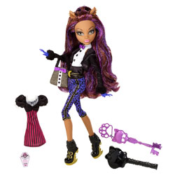 Monster High en tenue de soirée - Clawdeen Wolf