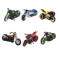Hot Wheels Motos 1/18ème