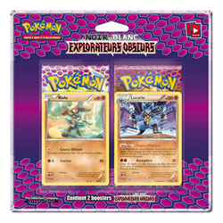 Duo Pack Pokemon Black and white explorateurs Obscurs
