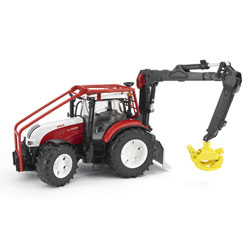 Tracteur steyr Forestier