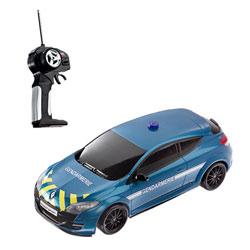 Mégane gendarmerie radiocommandée 1/14ème