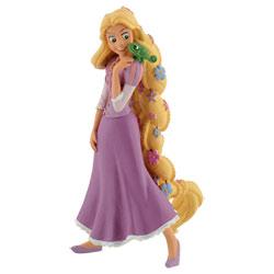 Figurine Raiponce cheveux en fleurs - Disney Princesses