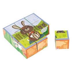 Kubkid - 9 Cubes animaux de la ferme