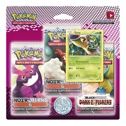 Pack 3 Boosters Black and white