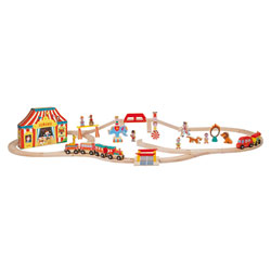 Train Story Express Circus en bois