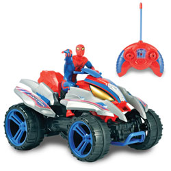 Quad radiocommandé Amazing Spider-Man Action