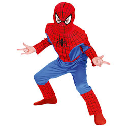 Panoplie Spiderman 3D  5/6 ans