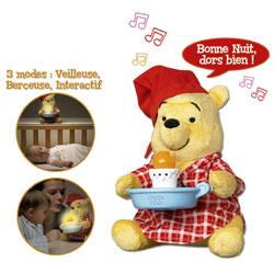 Peluche interactive Winnie