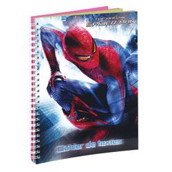 Cahier de texte Spider-Man