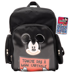 Sac à dos et calculatrice Mickey COMIC