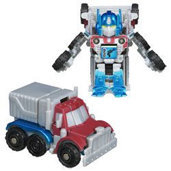 TRANSFORMERS Bot Shots Optimus Prime